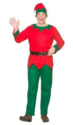 Waldo Weihnachtself Kostüm NEU - Herren Karneval Fasching Verkleidung - Waldo Kostüm