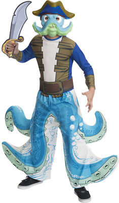 Boys Child WASH BUCKLER Skylanders License Costume