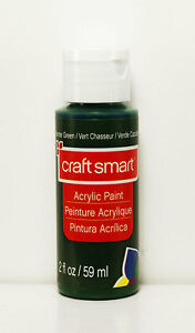 Hunter green paint ebay for Craft smart acrylic paint