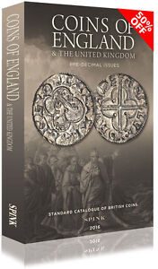 SPINK COINS OF ENGLAND 2016 HARDBACK  **Now half price** *Free UK P&P**