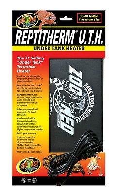 """Zoo Med ReptiTherm Under Tank Heater Medium 30-40gal 8""""x12"""" 16 watt"""