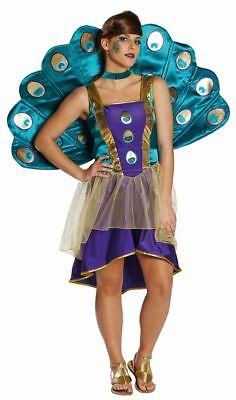 Pfau Pfauenkostüm Karneval Fasching (Damen Kostüm Pfau)