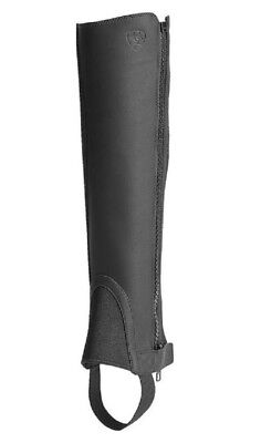 NEW Ariat Scout Half Chaps Full Grain Leather, Suede Inner Panel Full Length -