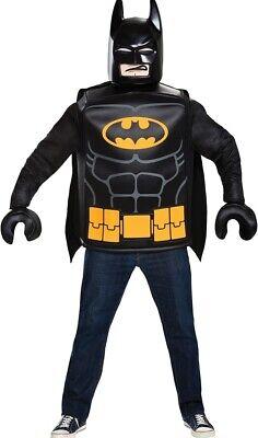 Lego Batman Clásico Disfraz Adulto Túnica & Capa Disfraz de Halloween Disguise