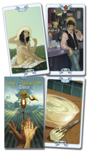Law of Attraction Tarot Deck Lo Scarabeo New Sealed