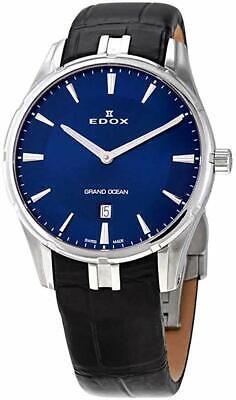 NEW Edox Grand Ocean Men's Quartz Watch - 56002 3C BUIN