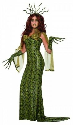 Medusa Damen Kostüm Gr. S/M Schlangen Mythologie griechische Göttin - Medusa Göttin Kostüm