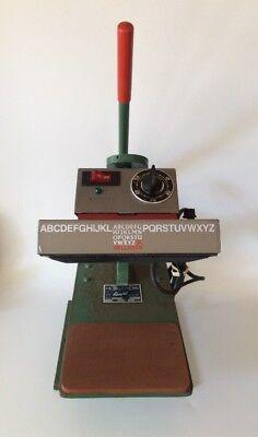 J.c. Nellissen Geo Knight Heat Press Heat Transfer Press 374d 120 V Tested