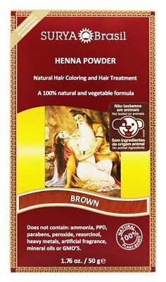 Surya Brasil - Henna Powder Natural Hair Coloring Burgundy Surya Henna Powder