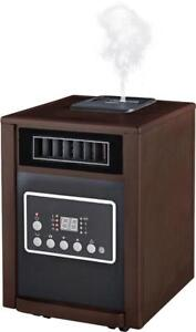 ENERGY EFFICIENT INFRARED HEATER WITH BUILT-IN HUMIDIFIER -- NOT ALLOWED TO ADVERTISE BRAND NAME