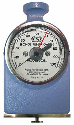 Ptc Hardness Tester Durometer 0-100 Ml For Foam And Sponge Rubber