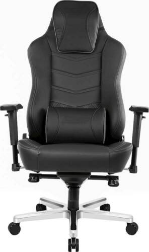 Akracing - Office Series Onyx Real Leather Computer Chair - Black