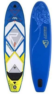 "Aqua Marina Beast Paddle Board 10'6"" Inflatable Stand Up Paddleboard w/ Paddle"