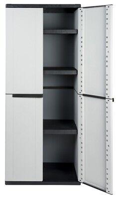 Haushalt, Möbel (Kunststoffschrank Haushaltsschrank Schrank Beistellschrank Putzmittelschrank)