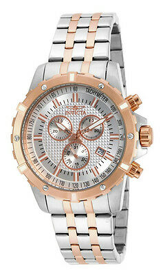 $58.00 - Invicta Specialty 17507 Men's Analog Chronograph Date Rose Gold Tone Watch