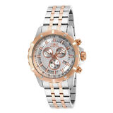 Invicta Specialty 17507 Men's Analog Chronograph Date Rose Gold Tone Watch