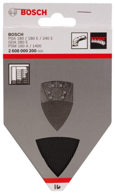 BOSCH-LOUVRE Sanding PLATE Delta Sanders PDA GDA PSM 2608000200 3165140109499#A