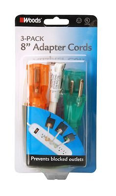18/3 ADAPTER CORD 3-PACK