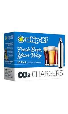 10  CO2 16g cartridge NON Threaded  soda 16 gram keg BEER Charger WHIP IT BRAND