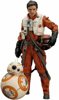 "Kotobukiya ARTFX  Star Wars  Poe Dameron and BB-8"" Artfx Statue  - new"