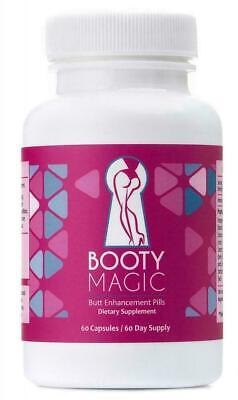 NEW Best Booty Magic Ultra Butt Enhancement Pills - 2 Month (Best Booty Enhancement Pills)