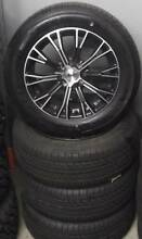"15"" Advanti Alloys And Achilles Tyres For Small cars Toowoomba Toowoomba City Preview"