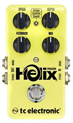 Tc Electronic Helix Phaser Guitar Effect Pedal Toneprint