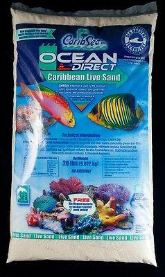 CaribSea Ocean Direct 20 lbs Live Sand Aquarium Saltwater Substrate