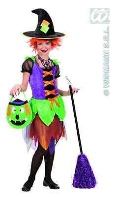 Hexe ** hochwertiges Kinderkostüm Fasching ~ sexy Witch 128 140 158 STREGA - Sexy Kind Kostüm