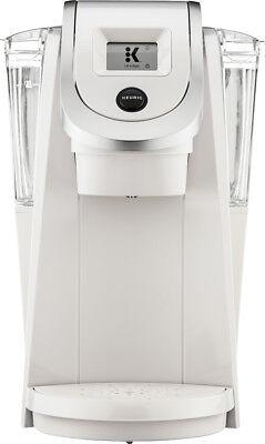 Keurig - K200 Single-Supply K-Cup Pod Coffee Maker - Sandy Pearl