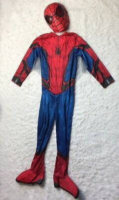 Marvel Amazing Spiderman Muscle Costume w/Mask Youth Childs Size Small J2Y