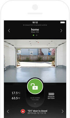 Garage Door Smartphone Controller Direct 3/4 HP Quietest On