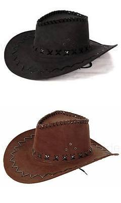 Kinder Cowboyhut Westernhut Cowboy Hut (Hut Cowboy Wildleder)