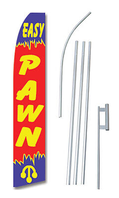 Complete 15 Easy Pawn Kit Swooper Feather Flutter Banner Sign Flag