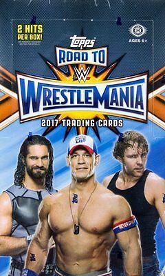 2017 Topps WWE Road to Wrestlemania Hobby Wrestling Box