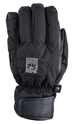 ROME Foreman Glove Black L  Snowboard Ski Handschuh Black Snow Glove