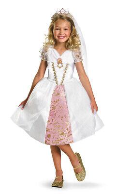 Disguise Kids Tangled Rapunzel Wedding Gown Girls Bride Halloween Costume 3T-4T](Rapunzel Wedding Dress Costume)