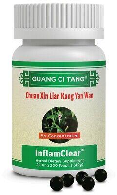 穿心蓮抗炎丸Chuan Xin Lian Kang Yan Wan(InflamClear™)200 mg 200 Pills