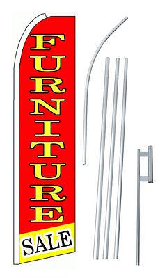 Complete 15 Furniture Sale Kit Swooper Feather Flutter Banner Sign Flag