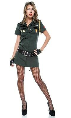 Army Seductress Adult Womens Costume, 595018, Forplay