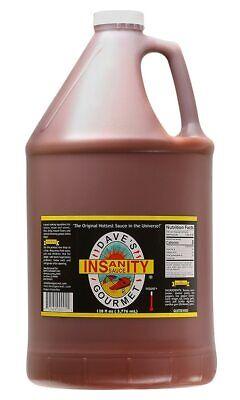 Dave's Gourmet Original Insanity Hot Sauce, Gallon (128 oz) Daves Gourmet Insanity Hot Sauce