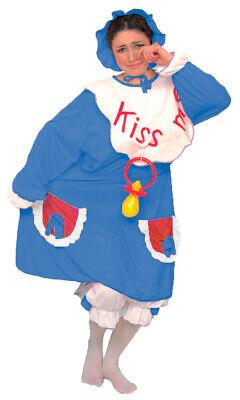 wachsene Blau Spaßkostüm Clown Junggesellenabschied Party (Erwachsene Clown-kostüm)