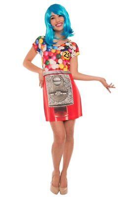 torealistisch Sublimated Kleid Halloween Kostüm F138943 (Gumball Kostüm)