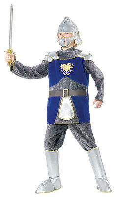 RED Deluxe Knight Child Armor Chainmail Costume Large - Chainmail Knight Costume