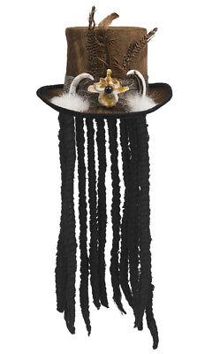 Voodoo-Hut mit Haaren