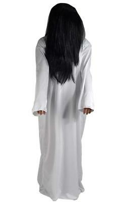 Sadako Cosplay Kostüm (Halloween Costume wig dress set ghost Sadako cosplay costume free size)