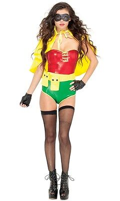 Superhero Costume For Women (Sultry Sidekick Sexy Superhero Adult Womens Costume, 552439, Forplay,)
