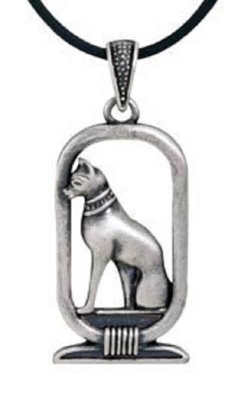 Ancient Egyptian Bastet Cat Pewter Pendant Necklace Egypt Jewelry Fashion New