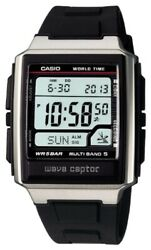 NEW CASIO Watch Wave Septar Radio clock WV-59J-1AJF Black Men's from JAPAN