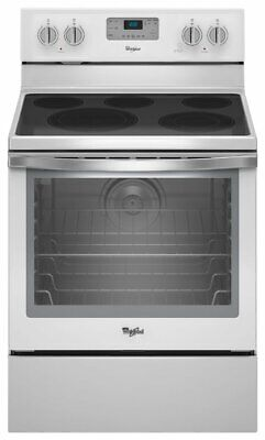Whirlpool WFE540H0EH 30 Inch Freestanding Electric Range with Convection